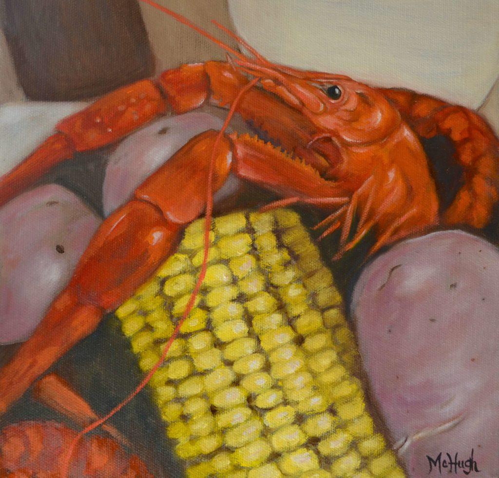 Artist Denise McHugh