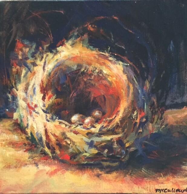 Artist George Ann McCullough