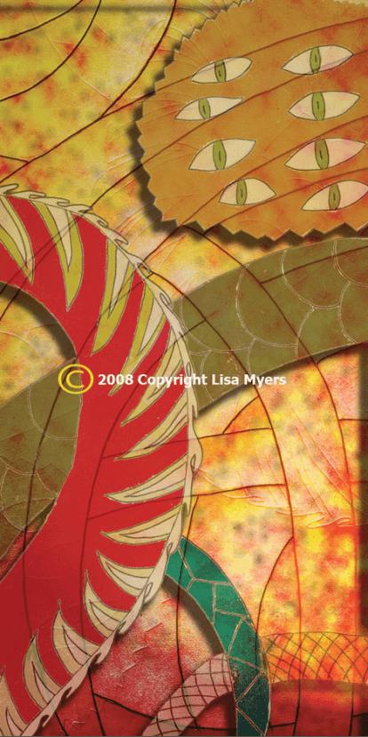 Artist Lisa Myers
