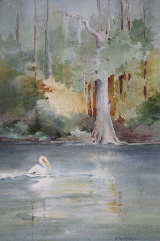 Artist Barbara Earnshaw