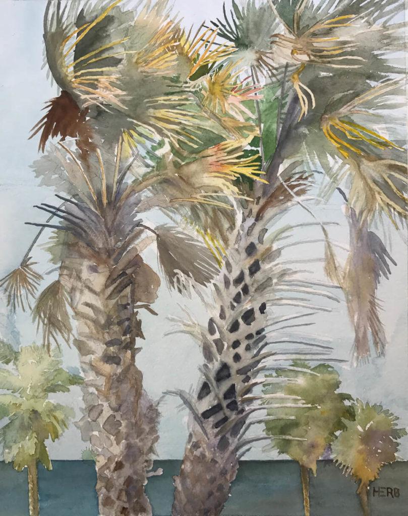 Artist Herb Willey